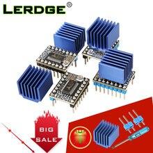 Lerdge peças de impressora 3d tmc2225 motorista do motor passo 256 microsteps uart drivers mudo stepstick vs tmc2209 tmc2208 tmc2130 a4988