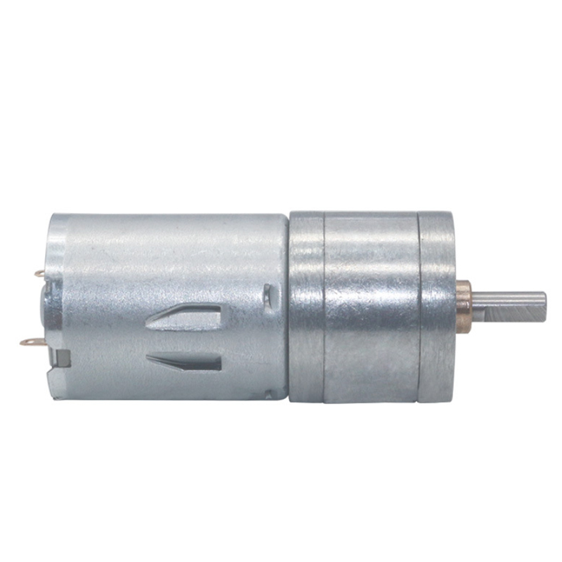 JGA25-<font><b>370</b></font> Geared <font><b>Motor</b></font> DC <font><b>Motor</b></font> 6V 12V 24V High Torque Electric Gear <font><b>Motor</b></font> 15/30/60/100/150/200/300/400/500/1000/1200 Rpm image