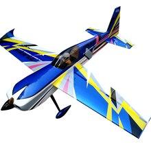 """Slick 60cc-80cc 9"""" Бензиновый Радиоуправляемый модель самолёта на радиоуправлении Balsa дерево фиксированное крыло Самолет rom США"""