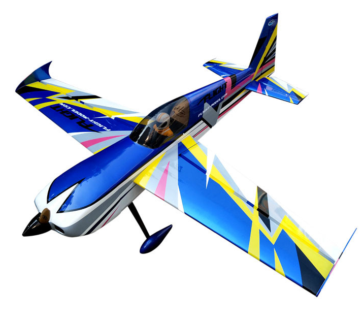 New Slick 60cc-80cc 91 Gasoline Radio Controlled RC Airplane Model Balsa Wood Fixed Wing Plane Shipping rom US image
