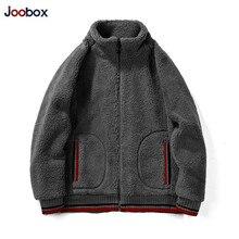 New Winter Warm Jackets Men Lamb Cashmere Mens Solid Color Big Pocket Woollen Fashion Casual Coats Dropshipping
