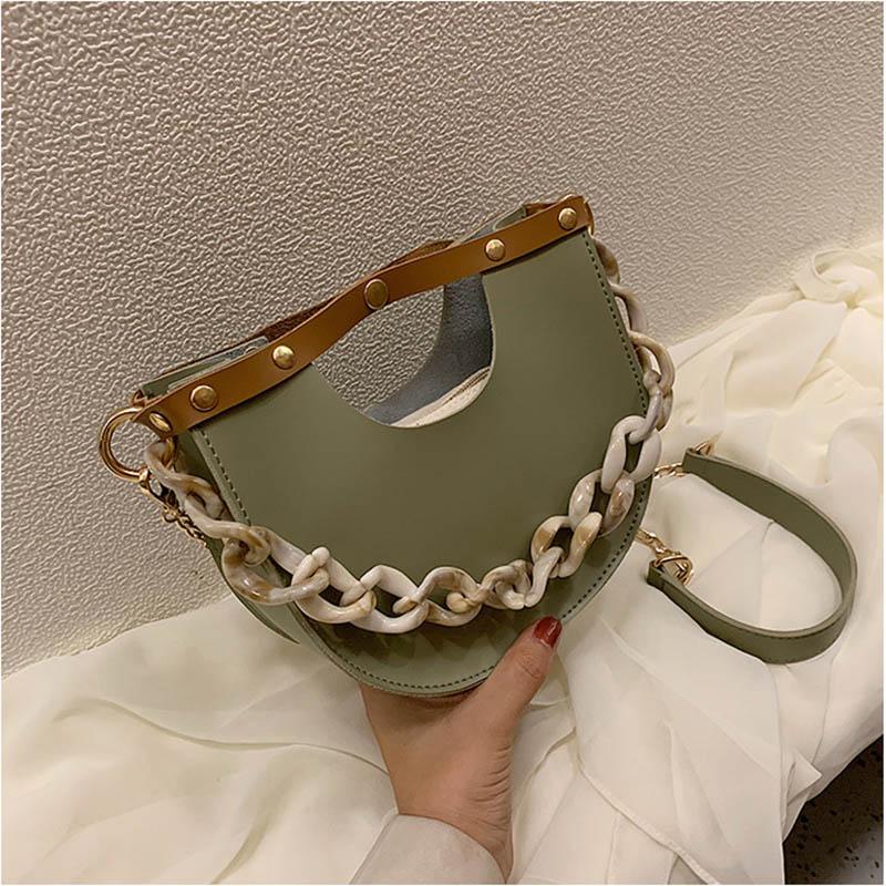 2020 Women Small Shouler Bag Tote PU Leather Evening Clutch Mini Purses And Handbag Fashion Chain Crossbody Pack Ladies Hand Bag
