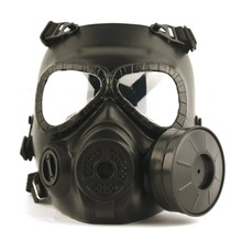 Lightweight Design Outdoor Defence Fog Bring Fans Antigas Mask Full Face CS Field Human Army Fans Riding Mask
