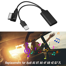 Audio-Adapter AMI Mmi 2g Bt-Module Wireless Car Aux-In with Usb-Cable for A5 8T A6 4F