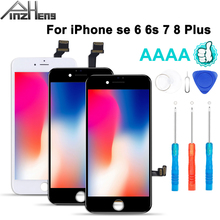 2020 100% AAAA Screen LCD For iPhone 6s 7 6 8 Plus 6s LCD Display Digitizer No Dead Pixel 3D Touch Replacement Screen
