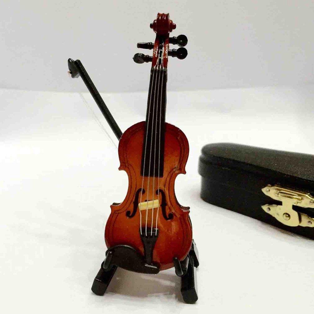 Dollhouse Miniature Doll House Violin (17cm High) For Dollhouse Decor Kids Toy