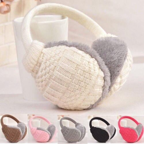 Made In China Fashion Women's Girls Winter Warm Knitted Earmuffs Ear Warmers Ear Muffs Earlap