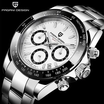PAGANI DESIGN 2019 Brand Men Sports Quartz Watch Luxury Waterproof WristWatch New Fashion Casual relogio masculino