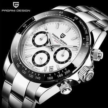PAGANI DESIGN 2019 marque hommes sport montre à Quartz de luxe hommes étanche montre-bracelet nouvelle mode montre décontractée pour homme relogio masculino