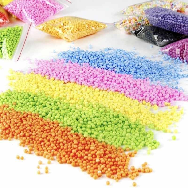 Colori Assortiti Polistirolo Styrofoam Filler Schiuma 2 ~ 4 Millimetri Mini Beads Sfere di Artigianato Casa Cerimonia Nuziale Del Partito Della Decorazione Libera Il Trasporto