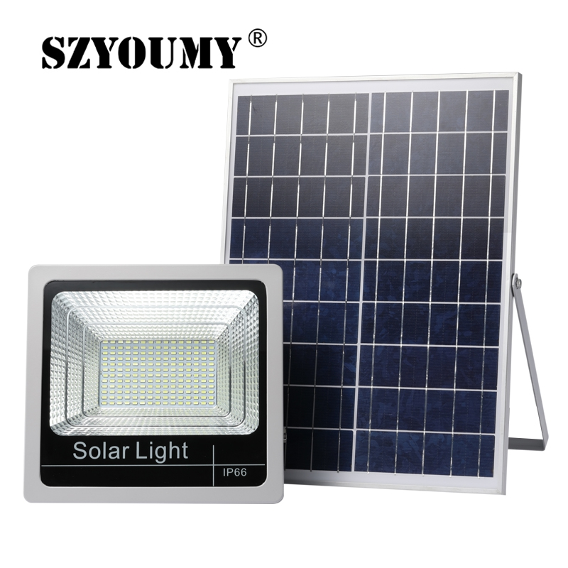 SZYOUMY  Outdoor 40W 60W 80W 100W 120W Solar Street Light LED Indicator Flood Lights Solar Floodlight With ON/OFF Switch