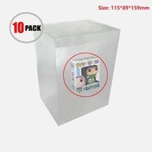 Ruitroliker Box Protector Case Transparent Sleeve Plastic Protection for Funko Pop 4 Inch Vinyl Figures