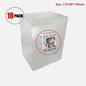 Image 1 - Ruitroliker Box Protector Case Transparent Sleeve Plastic Protection for Funko Pop 4 Inch Vinyl Figures