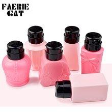 6 типов розовый милый диспенсер для насоса с бантиком жидкий