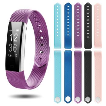 Replacement Silicone Strap Band For ID115/ ID115 Lite/ HR  Smart Bracelet Sport Wristbands TXTB1