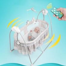 Электрическая колыбель, корзина для сна, детская кроватка-качалка для детей от 0 до 36 месяцев, умная детская кроватка для сна, детская качалка, магазин Youjiuyu