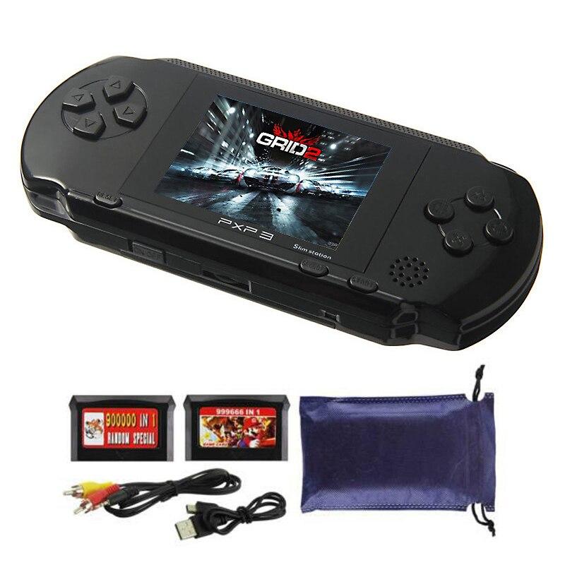 2.8 Polegada 16 bit pxp3 estação magro handheld game console embutido 150 jogos clássicos retro player de jogos de vídeo crianças brinquedos
