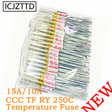 Metal fuse RY 250V 10A TF 65 Celsius Degrees Temperature TF Thermal Fuse RY 65C Eletric