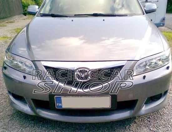 UNPAINTED EYELID EYEBROW EYELIDS EYEBROW 1PAIR for 04-07 Mazda6 Mazda 6 M6  T036EF 2