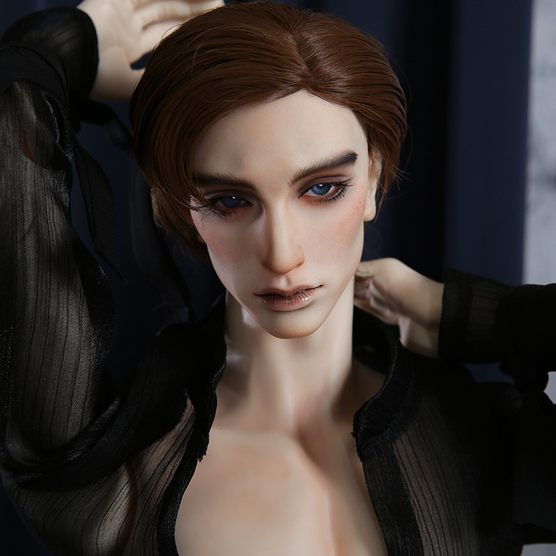 Dollshe 28M Classic Rey Lewis BJD Doll 1/3 Romantic Mysterious Muscular Male High Mobility Ball Jointed Dolls 2