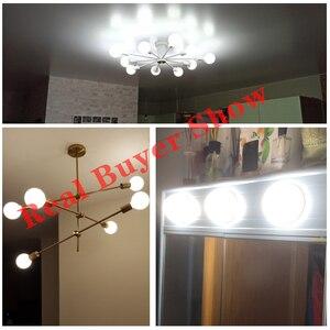 Image 4 - 밀키 LED 전구 E27 220V 110V Lampara G80 G95 G125 Ampoule Bombilla LED 램프 전구 차가운 흰색 따뜻한 화이트 펜 던 트 램프
