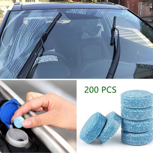 200x Car Wiper Tablet Window Glass Cleaning Cleaner for BMW E46 E53 E60 E61 E63 E65 E81 E82 E83 E87 E90 E91 E92 3 5 6 X1 X3 X5