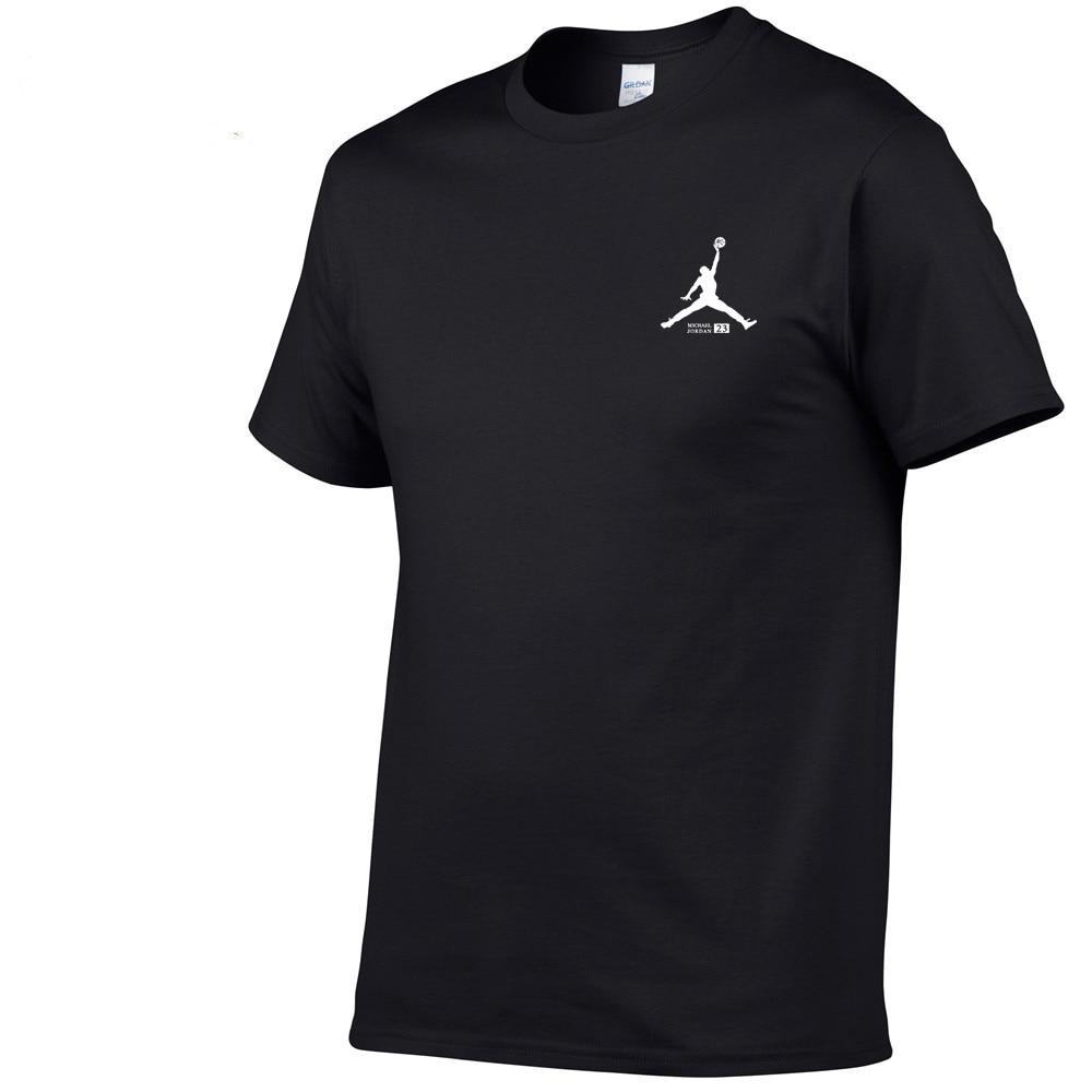 Summer Hot Sale New Tee Print Men Swag   T  -  Shirt   Top Quality Cotton Jordan 23 Hip Hop Short Sleeve   T     Shirt   Men XS-XXL