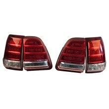Coche modificado LED luces traseras para Toyota LAND CRUISER FJ100 LC100 UZJ100 1998, 1999, 2000, 2001, 2002, 2003, 2004, 2005, 2006, 2007 4 Uds