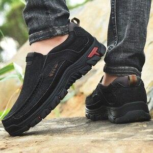 Image 3 - الرجال حذاء كاجوال أحذية رياضية 2020 جديد جودة عالية Vintage 100% حقيقية أحذية من الجلد الرجال جلد البقر الشقق أحذية من الجلد الرجال