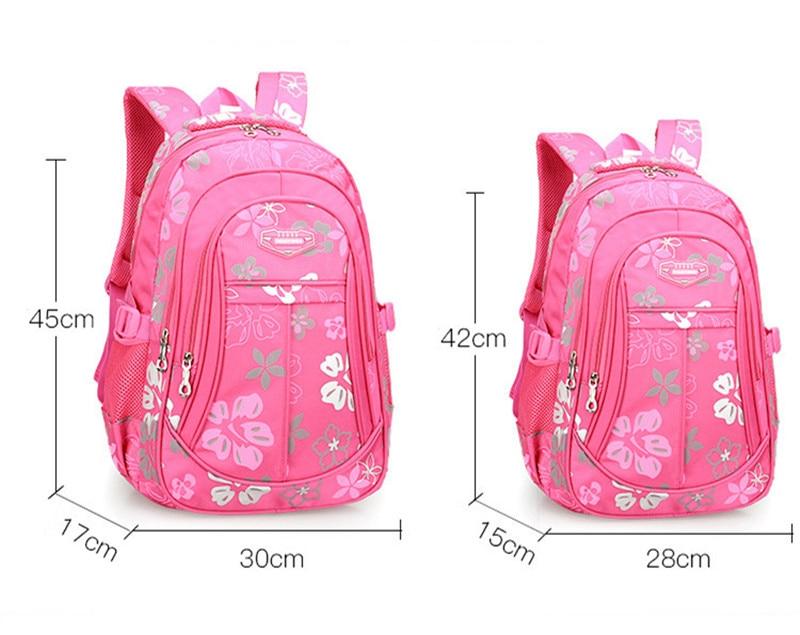 Big Capacity School Campus Travel Leaves Pattern on Black Background/Laptop Backpack for Kids Teen Girls Boys Women Men
