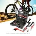 14 in 1 Fiets Fiets Reparatie Tool Kits Set Universal Home Outdoor Hub Kegel Sleutels Kettingpons Toolbox