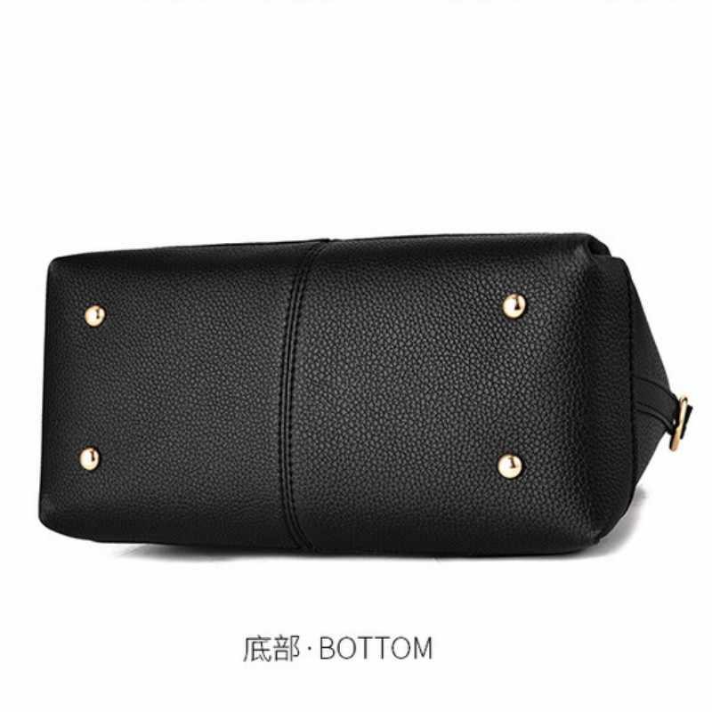 100% en cuir véritable femmes sacs à main 2019 nouvelle marée femme sac à bandoulière sac en forme douce dame épaule sac à main