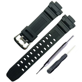 Replacement for CAS109 G-Shock Watch Band Strap Fits GW-3500 GW-3000 GW-2500 G Shock GW-2500B G-1000 G-1100 G-1200 G-1250 G-1500 new for caswatch gshock gw 3500b gw 3000b gw 2000 g 1200b g 1250bresin tape watchabnd watch band strap tool