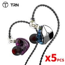 TRN ST1 1DD 1BA hibrid kulak kulaklık HIFI DJ monitör koşu spor kulaklık kulak tıkacı kulaklık QDC kablo TRN v90 BA5