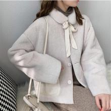 Winter Loose Casual Jacket Coat Pockets Women Outerwear Ladies Fresh Coat All-Mach