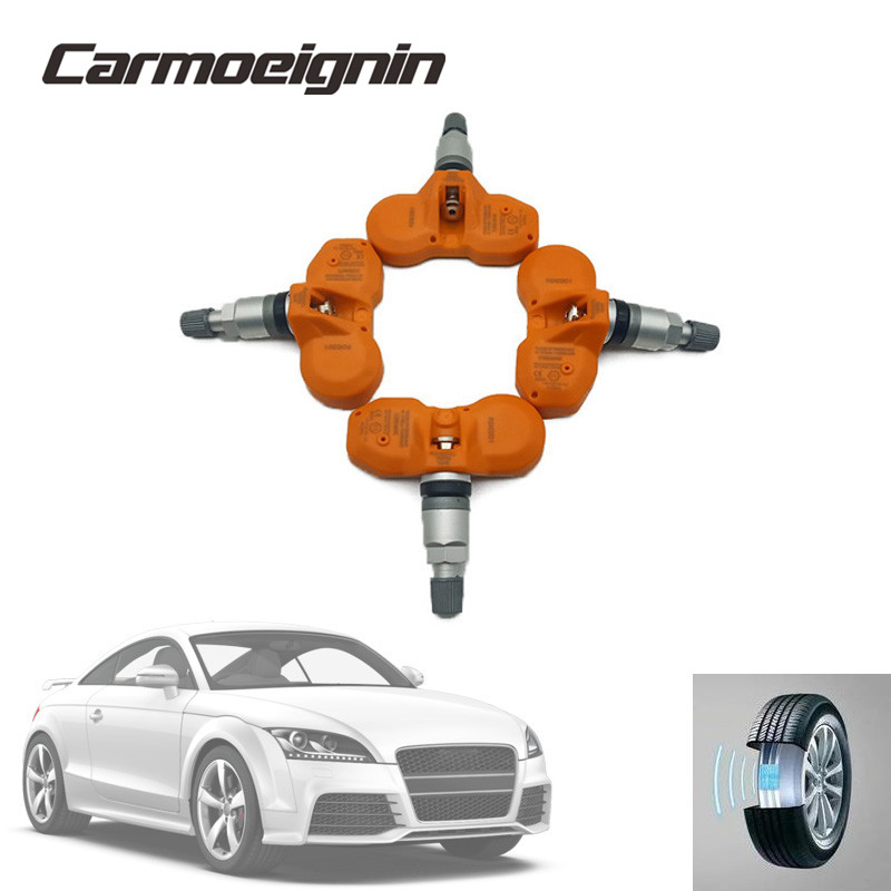 4 PCS 433 Mhz 4D0-907-275 C   4D0907275C Tire Pressure Sensor TPMS For Audi A8 Quattro 2003-2009   VOLKSWAGEN PHAETON 2004-2006