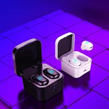 цена на DishyKooker TWS Mini Bluetooth 5.0 Earphone Wireless Earbuds Sports Music Headsets with Mic and Charging Box noise cancelling