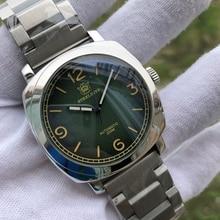 SteelDive 1938 NH35 SapphireอัตโนมัตินาฬิกาC3 Super Luminous STEELนาฬิกาดำน้ำชาย 200M NH35 Mechanicalนาฬิกาผู้ชาย