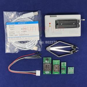 Image 1 - Black Edition V10.27 XGecu TL866II Plusโปรแกรมเมอร์USB 15000 + IC SPI Flash NAND EEPROM MCU PIC AVR + 4PCSอะแดปเตอร์ + PLCC EXTRACTOR