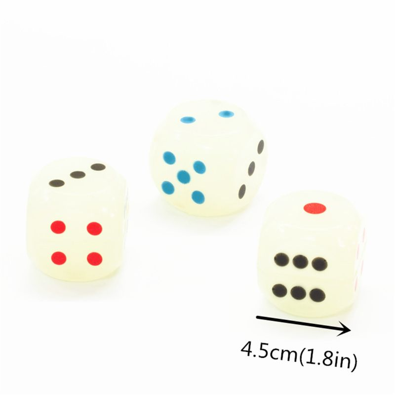 Drinking Dice 45MM Rubber Board Game Dice Bounce Ball Kids Toy