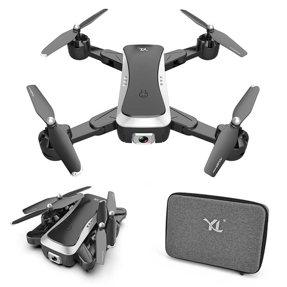 Drone FPV Drone With 4K/1080P HD 2 Cameras Live Video RC WiFi Quadcopter Helicopter toys for kids Foldable Off-Point drones