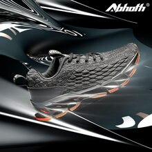 Abhoth/Мужская дышащая сетчатая кружевная обувь для бега; Спортивная