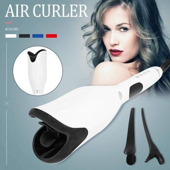 1 Inch Automatic Curling Iron Titanium Salon Air Spin N Curler Wand Rotating Magic Hair Curling Iron Hair Styling Dropshipping
