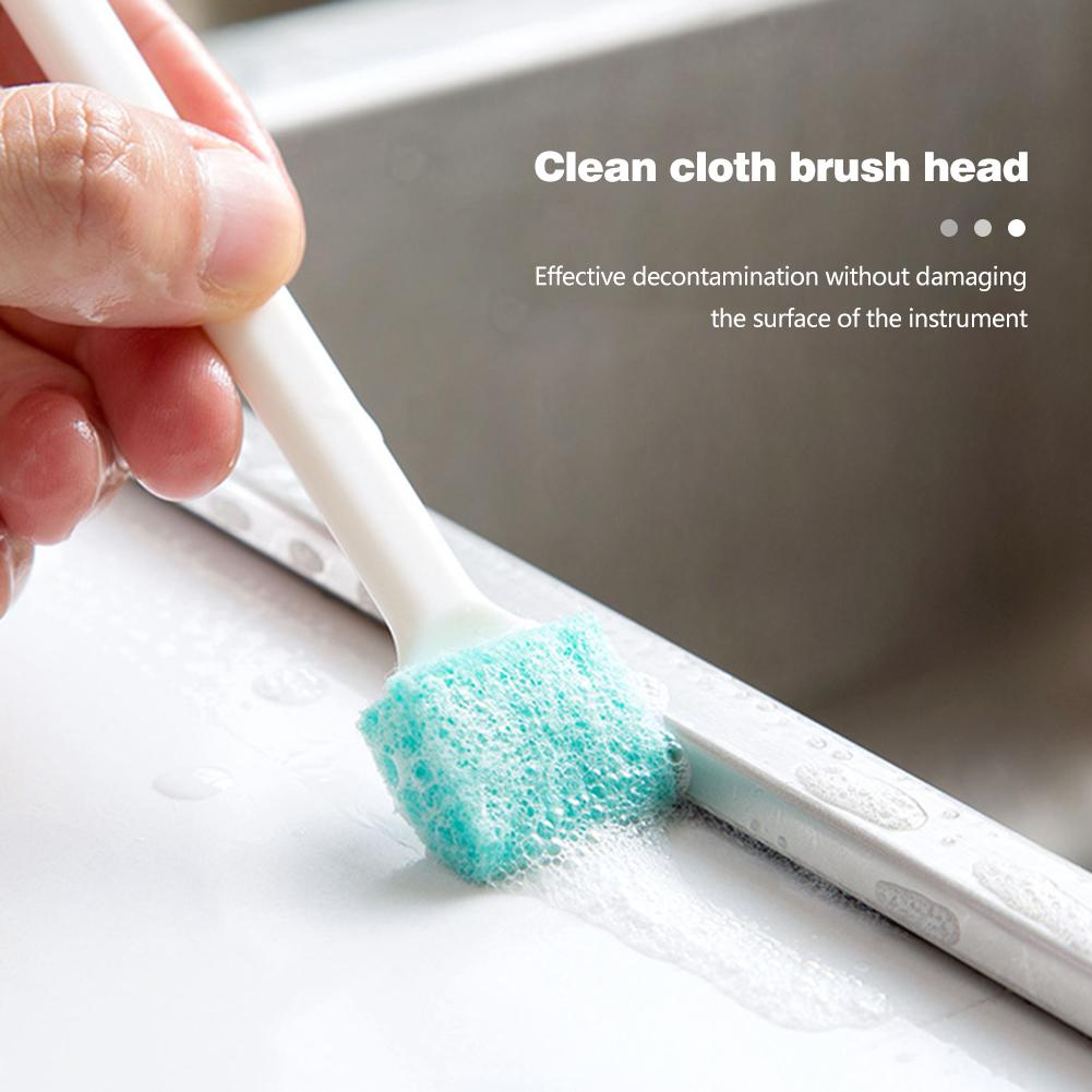 3pcs Household Small Cleaning Brushes Kitchen Hood Window Groove Gap Clean Tools Home Kitchen Cleaning Essential Supplies