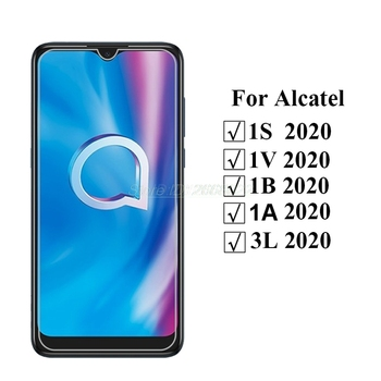 Перейти на Алиэкспресс и купить Для Alcatel 1V 1B 1S 3L 2020 защита экрана 9D защита для мобильного телефона lcd Передняя пленка для Alcatel 1S 2020 6,22 дюймчехол из закаленного стекла