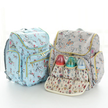 Mother and Baby Bag Fashion Multi-function Waterproof Insulation Mummy Portable Large Capacity Mobile Diaper
