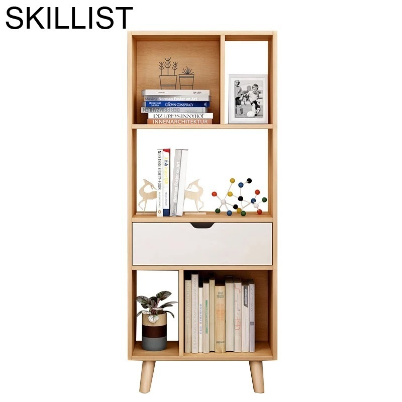 Casa Decoracion Cabinet Mueble De Cocina Industrial Kids Librero Bois Wooden Decoration Retro Furniture Bookcase Book Case Rack