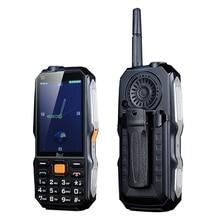 """DBEIF D2017, мобильный телефон для улицы, 3,"""" дисплей, русский ключ, аналоговый ТВ, с антенной, Лазерный фонарь, поясная клипса, Дополнительный внешний аккумулятор"""