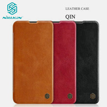 Original NILLKIN Qin Leather Case For Huawei Honor 20 Honor20 Flip Cover For Huawei Nova 5T Card Slots Wallet Book Fudnas Bag