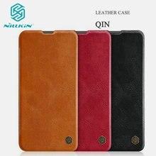 Original NILLKIN Qin cuir étui pour Huawei Honor 20 Honor20 housse à rabat pour Huawei Nova 5T fentes pour cartes portefeuille livre Fudnas sac